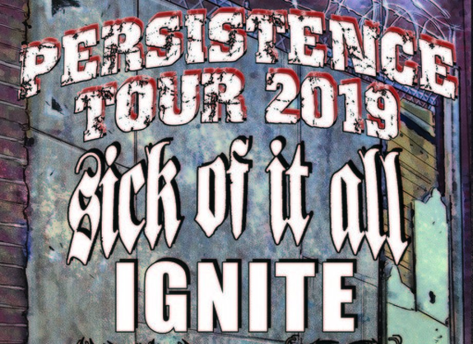 IGNITE - Persistence Tour ´19