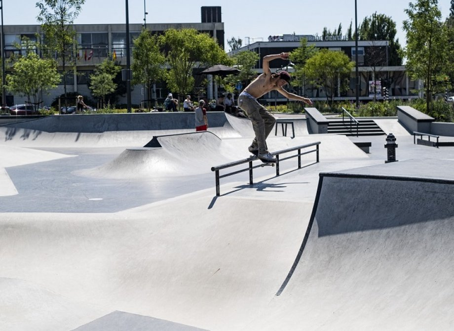 Hengelo park check with Lars de Weerd