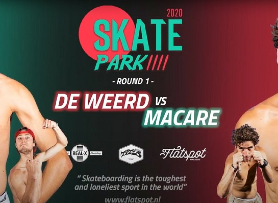 De Weerd vs. Macare - Game of SKATEpark