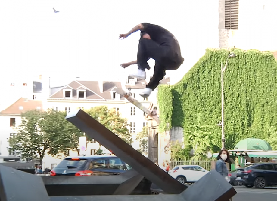 Independent Trucks in Paris with Justin Sommer