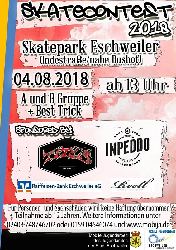 Flyer-Eschweiler-Skatecontest-2018