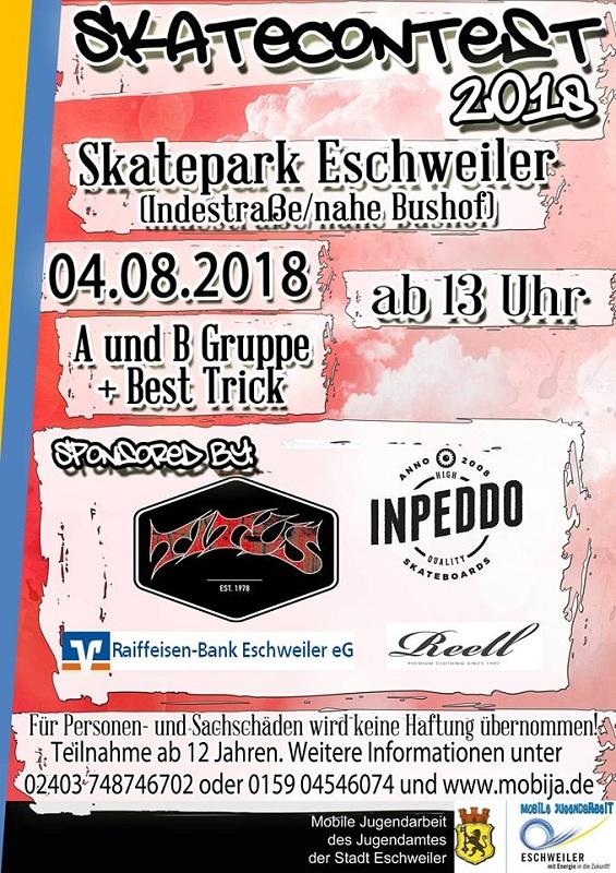 Flyer-Eschweiler-Skatecontest-2018